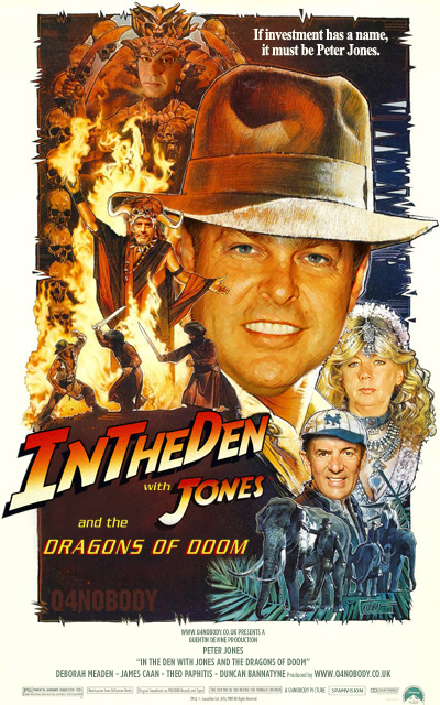 Peter Indiana Jones and the Dragons of DOOM!